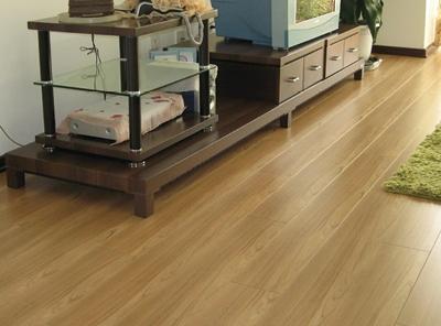竹木地板UV淋涂